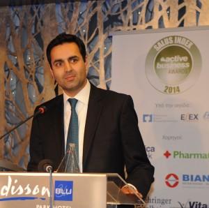 O κ. Hasseb Ahmad, διευθύνων σύμβουλος MSD Ελλάδας, Κύπρου και Μάλτας
